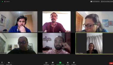 Videollamada con los colegas QES America Latina YorkU